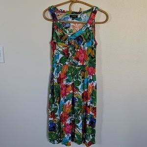 Spence knit island vacation dress
